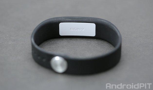 sony smartband back