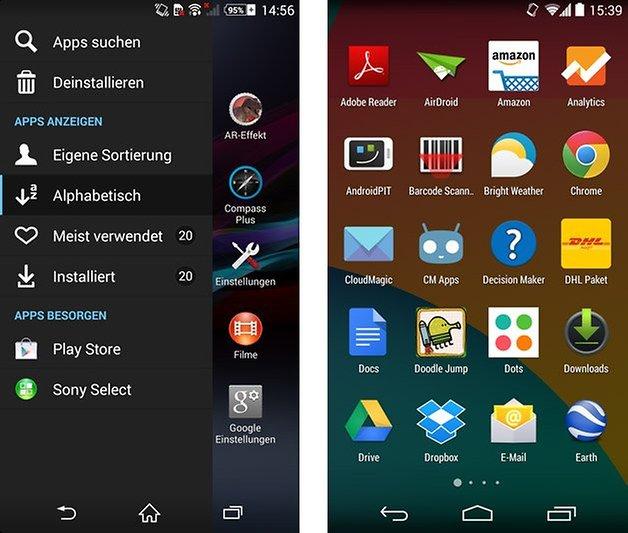 xperia ui nexus 5 stock app drawer