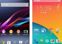 Xperia UI vs. Stock-Android: Vergleich der Herstelleraufsätze 2014