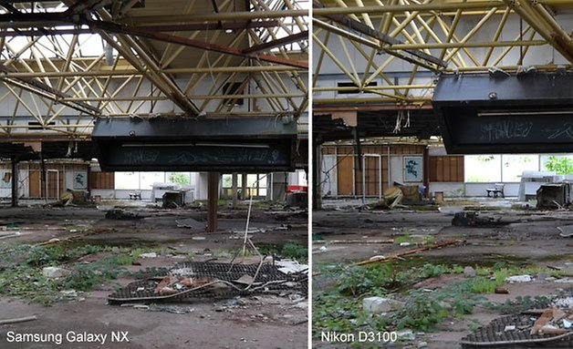 Galaxy NX Nikon 3100 vergleich 628 2