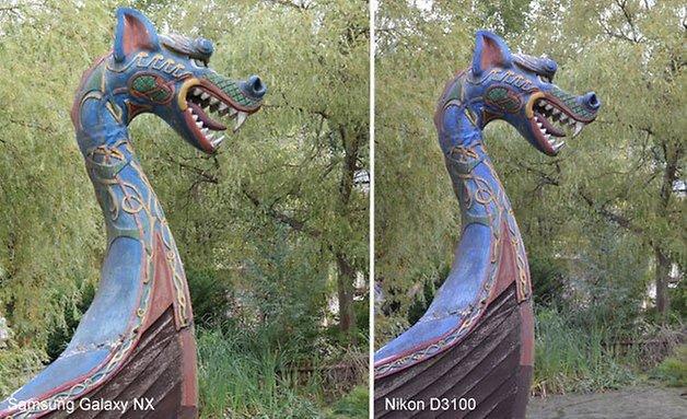 Galaxy NX Nikon 3100 vergleich 628 3