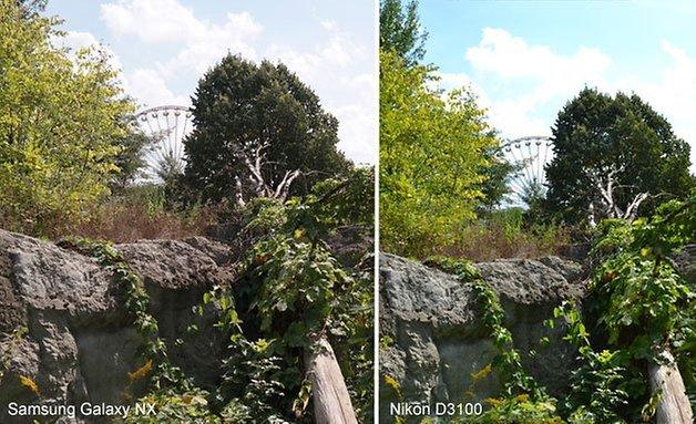 Galaxy NX Nikon 3100 vergleich 628 8 1