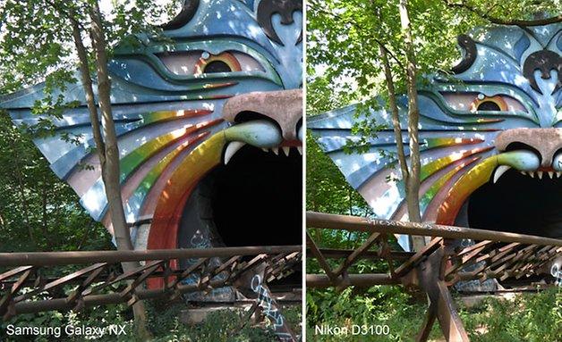 Galaxy NX Nikon 3100 vergleich 628 8