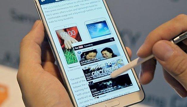 Flexible screen Galaxy Note 3 confirmed