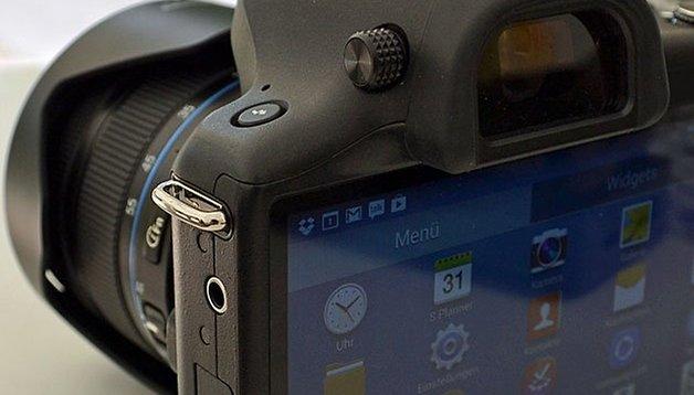 Galaxy NX vs. una cámara réflex de lente única