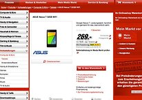 [Update] Nexus 7: Ende August ab 269 Euro zu haben, 16 GB für 229 Euro