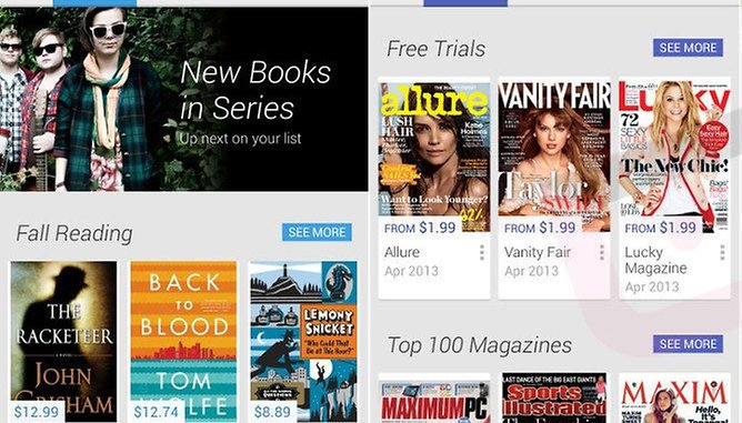 Google Play gets a face-lift with new 4.0 version