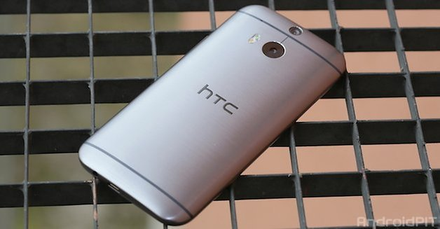 htc one 2014 backside