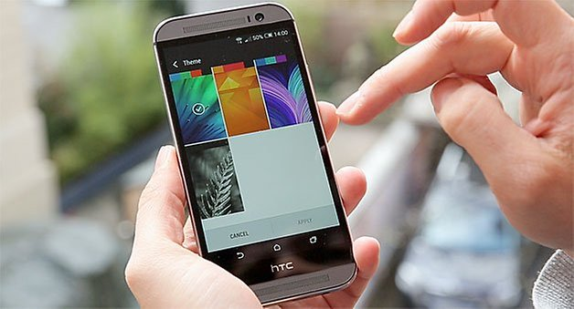 htc one 2014 themes