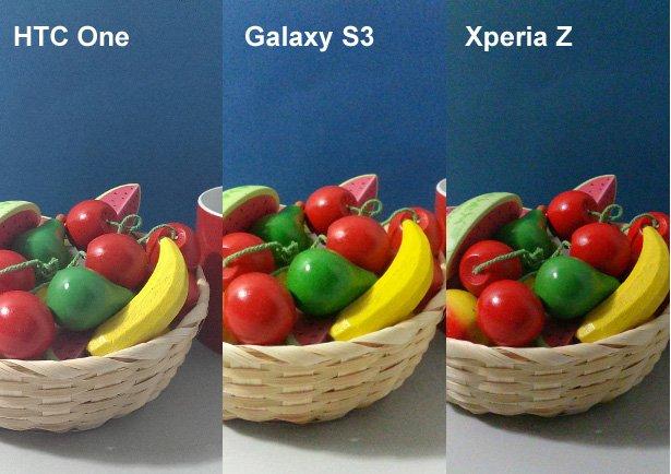 htc one galaxy s3 xperia z kamera vergleich 1