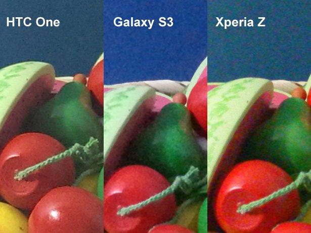 htc one galaxy s3 xperia z kamera vergleich 2