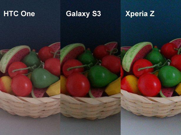 htc one galaxy s3 xperia z kamera vergleich 3