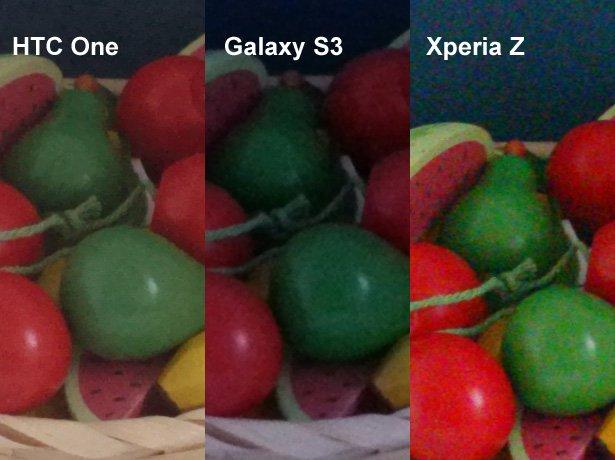 htc one galaxy s3 xperia z kamera vergleich 4