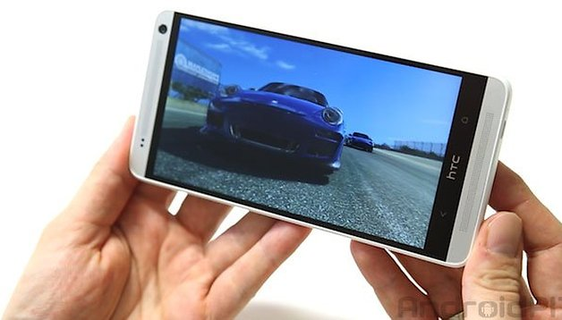 HTC One max, test hands on