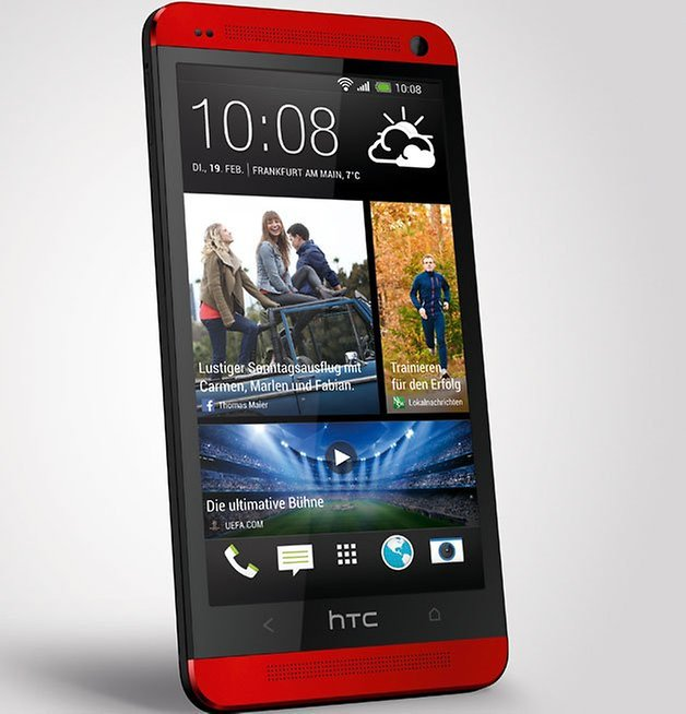 htc one red rot 4