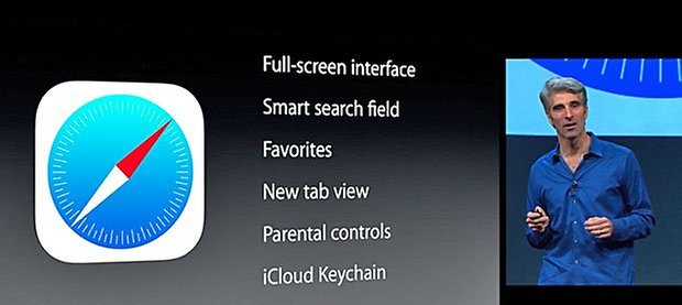 ios 7 wwdc safari