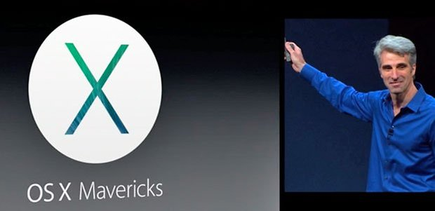 mac os mavericks logo