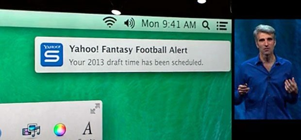 mac os mavericks notifications