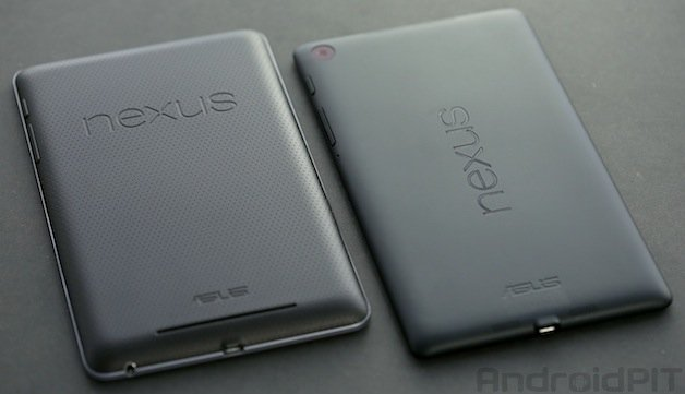 Video Comparison: New Nexus 7 Vs the Old Nexus 7