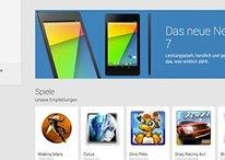 [Update] Neues Nexus 7 im Play Store, Nexus 4 im Preis gesenkt