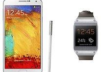 Galaxy Gear y Galaxy Note 3 - Precio y disponibilidad