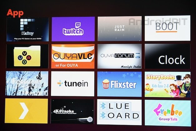 ouya screenshot apps