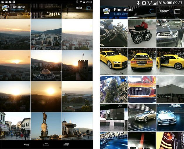 photocast screens 1