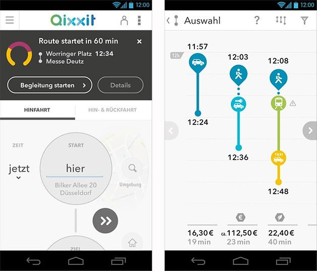 qixxit android app screenshot