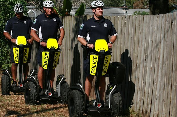 segways police