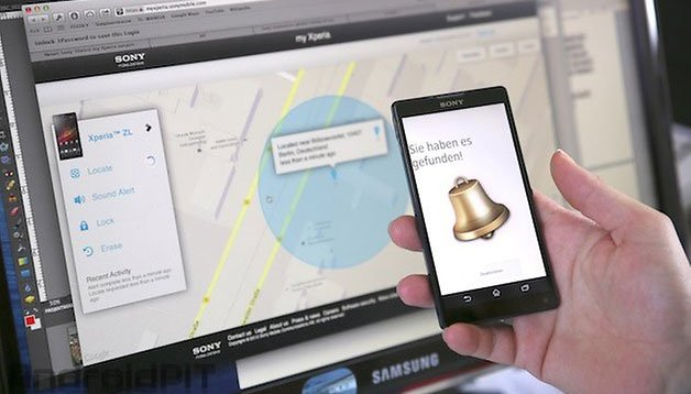 """My Xperia"" – Sony's solution to ""Find my iPhone"""