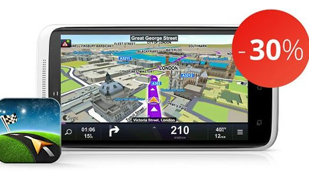 Sygic offers its bestseller offline navigation apps with 30% discount