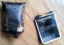 Wahre Geschichte? Galaxy Note explodiert, verletzt 55-Jährigen
