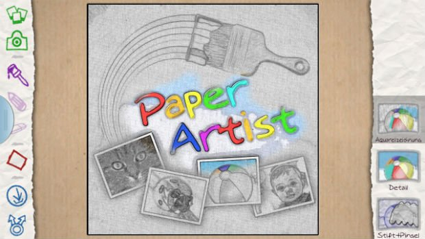 galaxy s3 paper artist