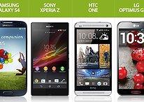 Galaxy S4 vs. Android-Konkurrenten: Wer hat die stärkere Hardware?