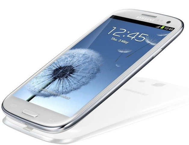 AndroidPIT Galaxy S3 Side