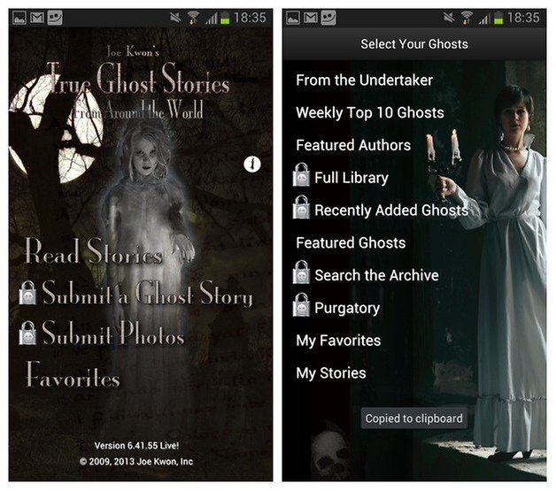 AndroidPIT True Ghost Stories