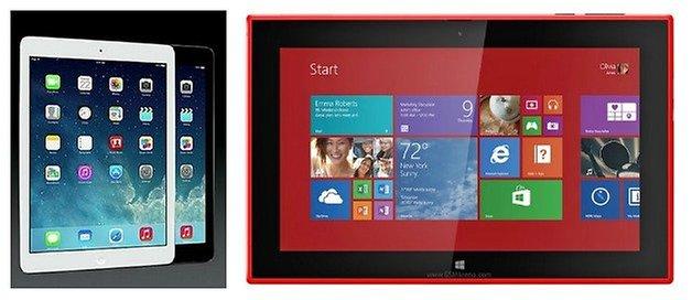 AndroidPIT iPadAir Lumia2520