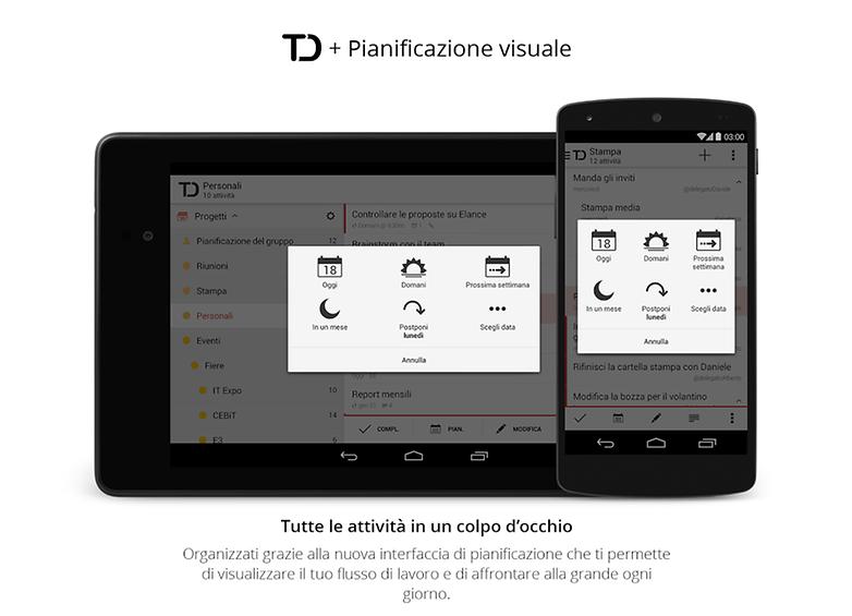 TDNext promo android2 italian