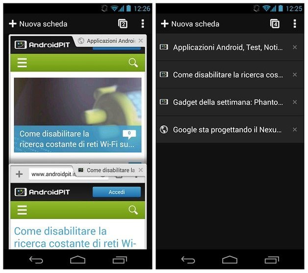 chrome beta android trick