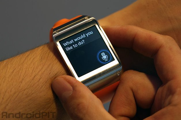 galaxy gear s voice interface