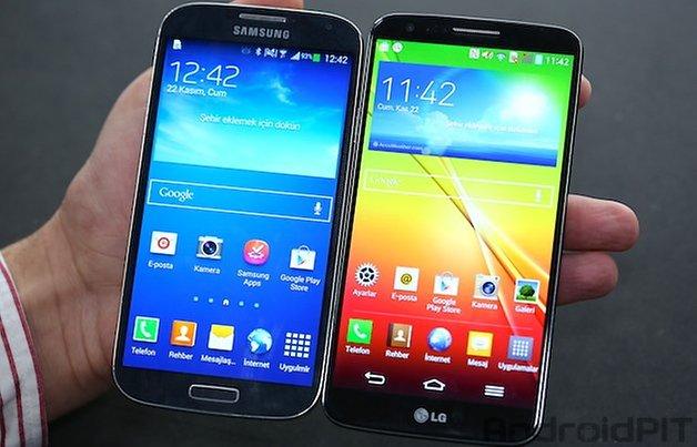 galaxys4 lgg2