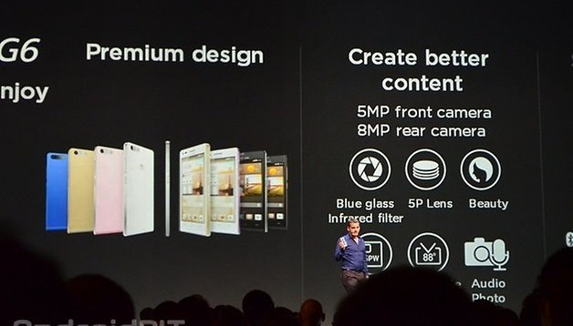 Ascend G6, MediaPad M1 e X1 presentati da Huawei al MWC 2014