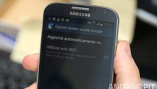 Galaxy S3, S4 e Co: fermare il download dei dati vocali