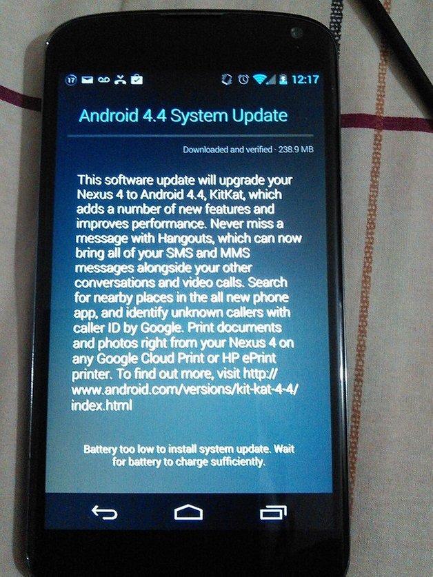 nexus4 android kitkat