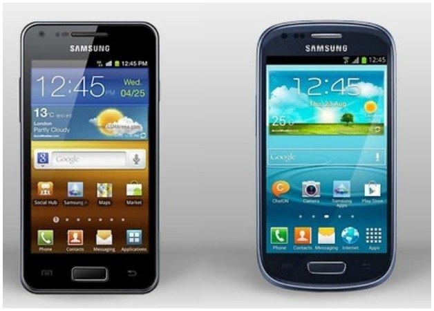 Galaxy s3 Mini VS Galaxy S Advance: l'ultima sfida ...  Galaxy s3 Mini ...