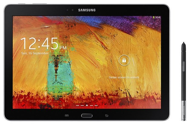 samsung galaxy note 10 1 2014 black pen front