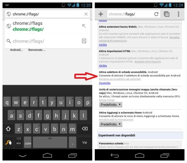 schede accessibilita androidpit