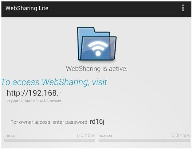 websharing mobile