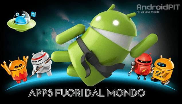 Apps fuori dal mondo: Migliori app per Ninja!