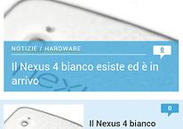 Homepage di AndroidPIT, nuova versione ottimizzata per smartphone
